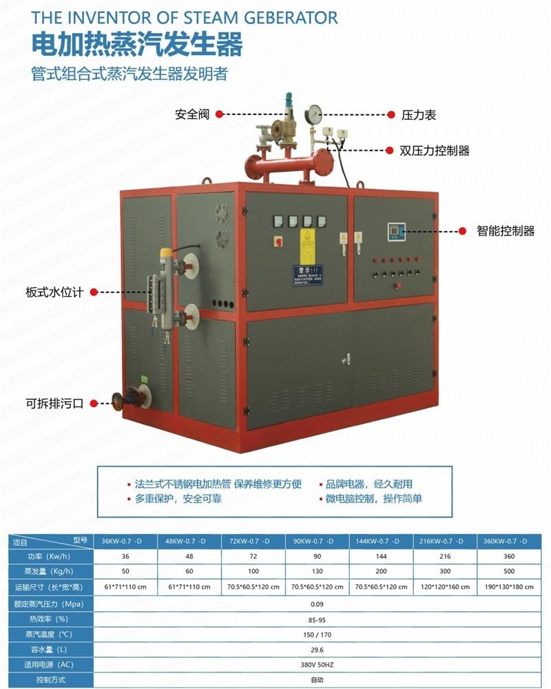 西寧蒸汽發生器